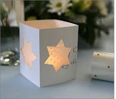 faroles de papel para velas - Buscar con Google