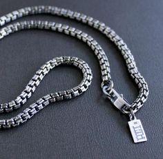 Mens Celtic Cross Necklace, Mens Silver Chain Necklace, Silver Chain For Men, Gold Chains For Men, Mens Silver Rings, Silver Man, Men Necklace, Sterling Silver Chains, Necklaces For Men
