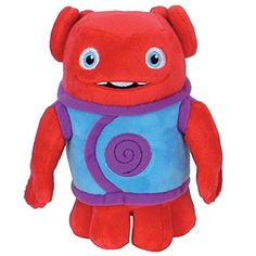 Shop Dreamworks Home Plush Soft Toy OH - RED. Dreamworks Home, Friends 2017, Movie Party, Home Movies, Smurfs, Madness, Plush, Pure Products, Amazon