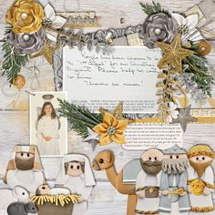 Chelle's Creations: O Holy Night; Chelle's Creations: Me and My Shadow; Fiddle Dee Dee Designs: Artsy Fartsy 2