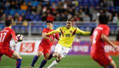 Colombia perdió 2-1 contra Corea del Sur por amistoso