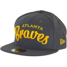 New Era City Arch Cap Atlanta Braves graphite/gold ★★★★★