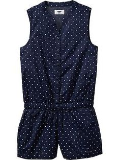 Girls Polka-Dot Slee