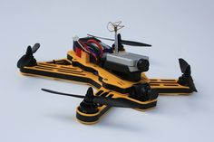 Fossils Stuff Gravity 250 FPV Racing Frame Black: Amazon.co.uk: Kitchen & Home