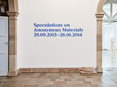 dailycontents:  Speculations on Anonymous Materials By Zak Group