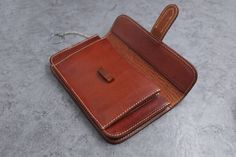 leather wallet of classical practical design with от ONE23SHOP