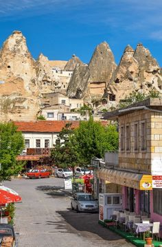 The fairy tale town of Goreme - Cappadocia, Turkey