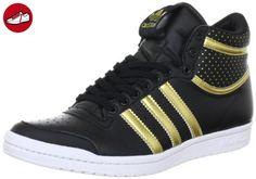 adidas Originals TOP TEN HI SLEEK W G63108, Damen Sneaker, Schwarz (BLACK1/METGO), EU 36 2/3 (UK 4) (US 5.5) - Adidas sneaker (*Partner-Link)