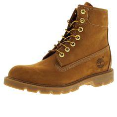 Timberland - Men's Icon 6 Inch Basic Waterproof Boot - Wheat Nubuck
