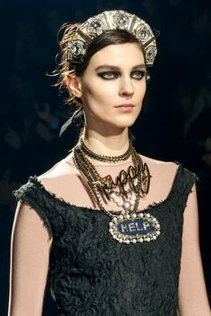 The Crown is the NEW IT Accessory. And we are loving the Wordy Jewelry