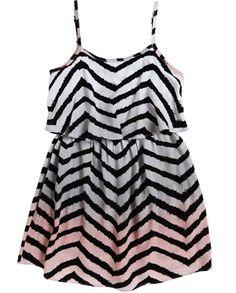 soda stripe dress {bardot junior}.