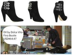 《來自星星的你》18、19集中的黑色踝靴品牌 DV by Dolice Vita  Amazon售價美金$64.47,約台幣$1,934      點這邊購買✈http://www.amazon.com/DV-Dolce-Vita-Womens-Bootie/dp/B00C7KTHDW
