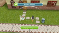 """Architecture"" for the Sims Freeplay"