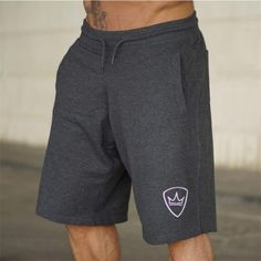 Men 2018 Summer New Loose Cotton Shorts Man Gyms Fitness Knee Length Sweatpants Male Jogger Workout Crossfit Brand Short Pants Fitness Brand, Mens Fitness, Gym Fitness, Loose Shorts, Casual Shorts, Men Shorts, Workout Shorts, Gym Workouts, Streetwear Shorts