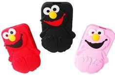 Funda Silicona Blackberry 8520 Y 9300 De Elmo ! - $ 100,00