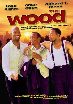 The Wood; is a 1999 romantic comedy, written by Rick Famuyiwa and Todd Boyd. Famuyiwa also directed the film , starring Omar Epps, Richard T. Jones, and Taye Diggs. Dirty Dancing, See Movie, Movie Tv, Movies Showing, Movies And Tv Shows, Series Movies, African American Movies, Omar Epps, Black Tv Shows