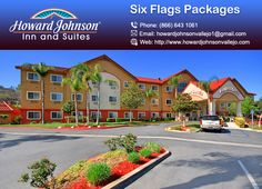 Howard Johnson Inn & Suites are Located less than 3 miles away from Six Flags Discovery Kingdom Park. https://goo.gl/qKi034