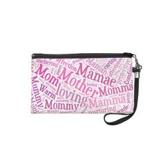 Mother In Many Languages Wristlet Bag