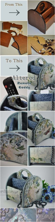 Altered Remote Caddy