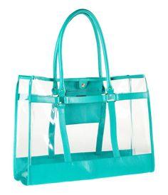 Sac en plastique transparent H&M euros H&m Bags, Purses And Bags, Clear Beach Bag, Beach Bags, Clear Handbags, Blue Handbags, Coach Handbags, Bleu Pale, Clear Tote Bags