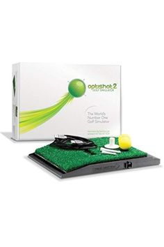 This affordable golf simulator package includes a simulator pad with 16 finely-tuned 48MHz infrared sensors that measure multiple aspects of both your shot and swing. These include your clubhead's speed on contact, your swing plane, and the overall distance that your ball has traveled. This ever-popular product also includes a top-quality hitting net, which comes with a travel case for portability and measures 10' x 7'. #affiliate #optishot2 #golf #simulator #golfsimulator Golf Club Grips, Golf Pride Grips, Golf Handicap, Golf Bags For Sale, Golf Etiquette, Used Golf Clubs, Golf Training Aids, Golf Mk2, Golf Simulators
