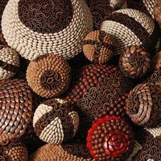 esferas de semillas para navidad - Buscar con Google