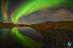 Aurora boreal, proyecto GLORIA
