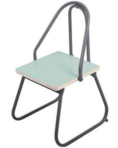 Stuhl WE PLAY in grau/hellblau von Sebra ✔ Kurze Lieferzeit ✔ Jetzt bei tausendkind stöbern!
