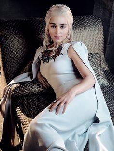 Daenerys Targaryen in White, Season 5