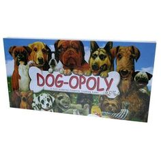 Late For The Sky Dog-opoly Game, Multicolor
