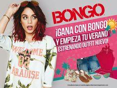 Las invitamos a participar en esta promoción, entren a nuestra página, den like y participen! www.facebook.com/BongoMexico