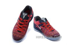 0c0ff7321b6 Nike Kobe Ix Em Philippines Low Mens Red Black With White Logo Authentic
