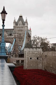 London Photography Tower Bridge Red by PrettyYouPhotography