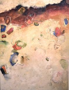"Alayne Spafford, fortythree - 89, Mixed media on canvas, 36"" x 48"" www.musegallery.ca"