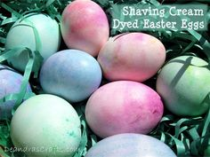 Decorating Easter Eggs  http://www.instructables.com/id/Decorating-Easter-Eggs/