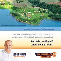 Parabenizo o município e seus moradores por mais um ano de trabalho, realizações e conquistas desta que é uma das mais belas cidades do país. #FichaLimpa #77000 #DrGondim #votedrgondim77000 #Social