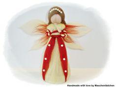 Perlen - Engel aus Märchenwolle von Maschenlädchen auf DaWanda.com