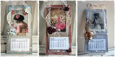 Godt Nytt År 2015 Stationary Gifts, Diy And Crafts, Paper Crafts, Vintage Calendar, Thing 1, Simile, House Wall, Old Books, Altered Books