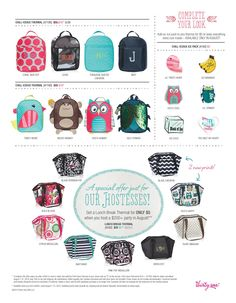Book and Host your party between Aug 1-14th and get one of these plus an ice pack for FREE! www.mythirtyone.com/reesareal