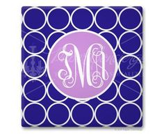 Personalized monogrammed coasters - 20% off in September.