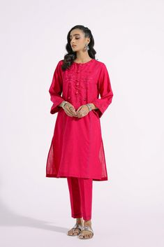 EMBROIDERED SUIT (E0138/103/406) | ETHNIC