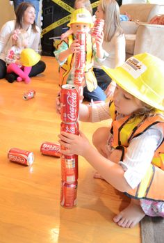 """GAMES  A """"How To"""" Construction & Truck Birthday Party 