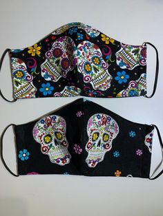 Skulls reusable and washable face mask/ dust mask / kids face mask Kids Knitting Patterns, Knitting For Kids, Sewing Patterns, Kara Kara, Face Masks For Kids, Masks For Sale, Diy Face Mask, Printing On Fabric, Cotton Fabric