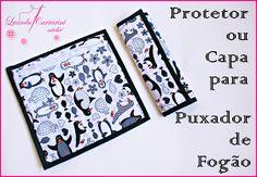protetor para puxador de geladeira e fogão