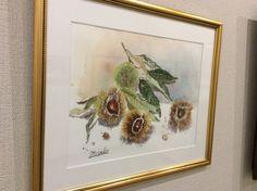 展示中の作品(安藤美沙子) - 森の響 公式ホームページ|カフェ|オリジナルレシピのケーキ|ギャラリー|コンサート|日進市