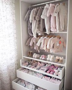 So cute! From Pax from IKEA. So cute! From Pax from IKEA. The post So cute! From Pax from IKEA. appeared first on Kinderzimmer ideen. Baby Bedroom, Baby Room Decor, Room Baby, Room For Baby Girl, Twin Baby Rooms, Toddler Rooms, Girl Decor, Bedroom Decor, Girl Nursery Themes