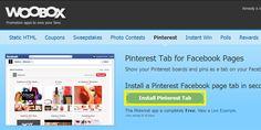 Blog: Tip voor ondernemers: Pinterest applicatie op je Facebook pagina