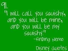 Oh finding nemo! :)