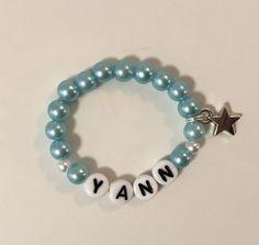 Armkette für Baby Beaded Bracelets, Baby, Jewelry, Feathers, Jewlery, Bijoux, Pearl Bracelets, Schmuck, Infants