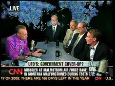 CNN - Larry King: UFOs shut down missiles??